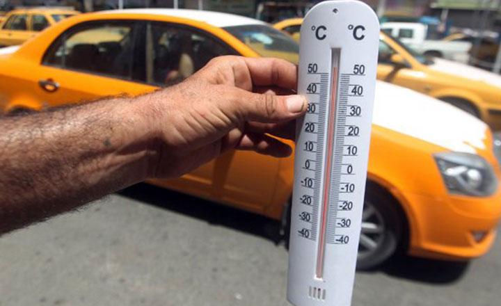 इराकमा तापक्रम ५१ डिग्री सेल्सियससम्म पुग्यो, तातो हावा चल्दा जनजीवन प्रभावित