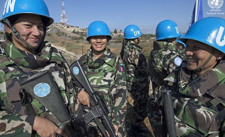 शान्ति सेना पठाउने नेपाल दोस्रो मुलुक