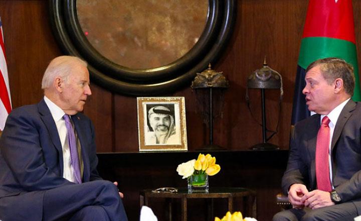 अमेरिकी राष्ट्रपति र जोर्डनका राजाबीच भेटवार्ता