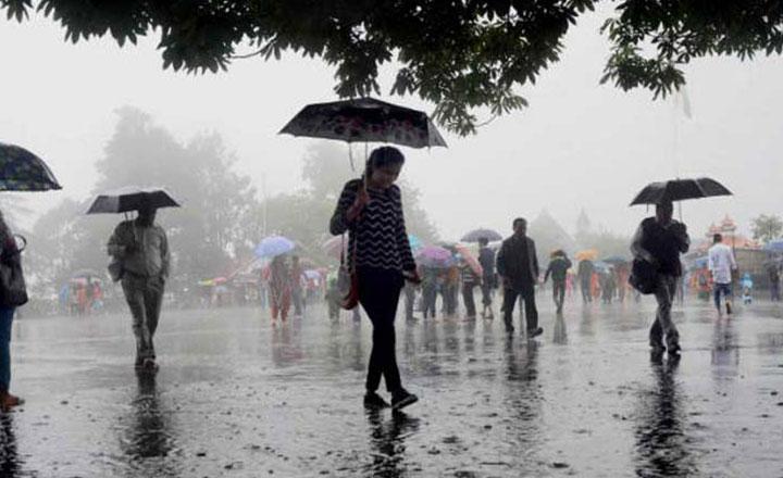 तीन दिन देशका अधिकांश स्थानमा वर्षा हुने